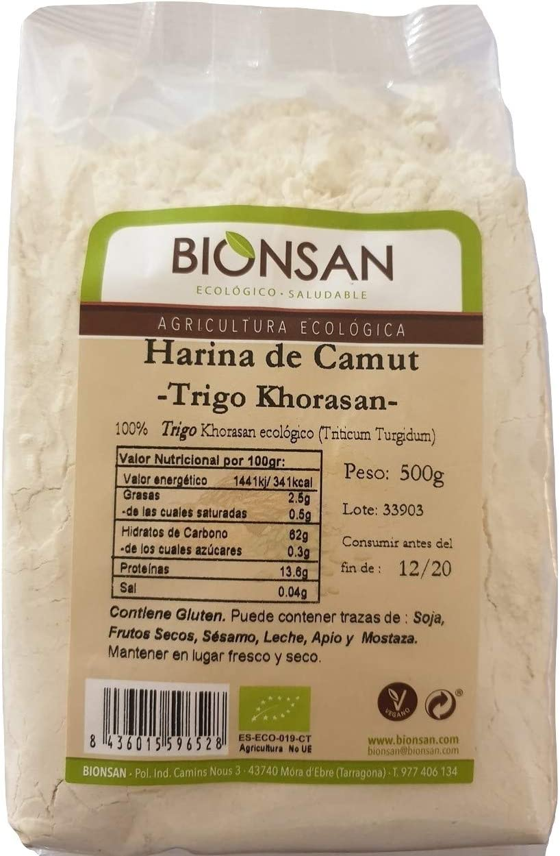 Bionsan Harina de Camut Ecológico - Trigo Khorasan - 500 gr…