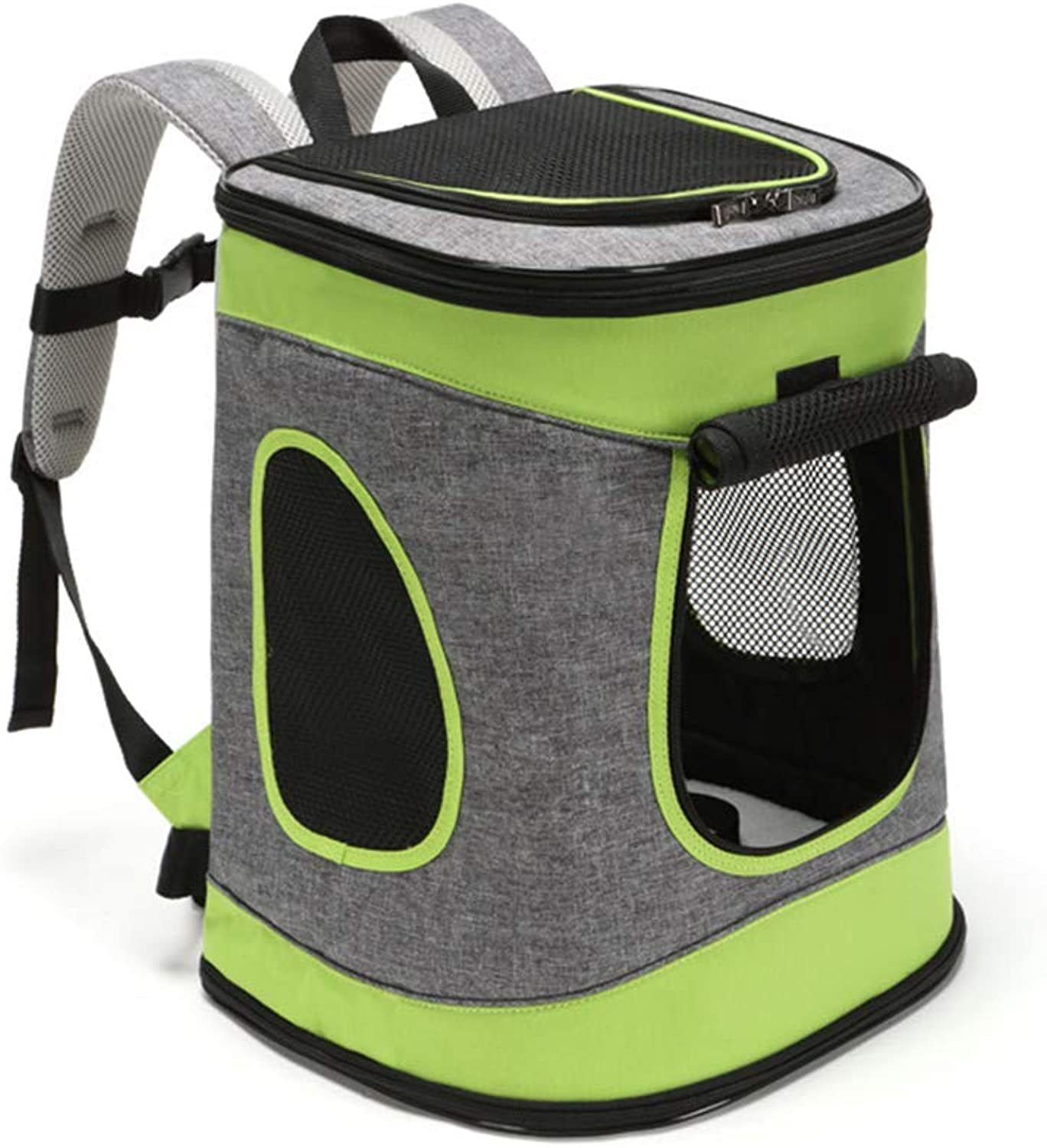 Breathable Shockproof Stress reliever pet Dog Backpack Stereoscopic Breathe Waterproof Safety buckle Portable Dog bag Backpack