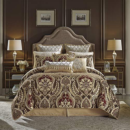 Croscill Julius Queen Comforter Set, Red