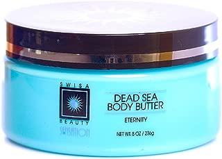 Swisa Beauty Dead Sea Body Butter, Eternity - Hydrating and Nourishing Shea Butter Moisturizer, 8oz