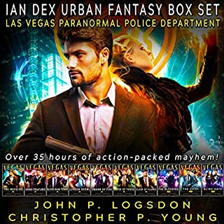 Ian Dex Urban Fantasy Box Set: Las Vegas Paranormal Police Department Box Sets, Book 3 cover art
