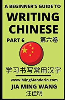 A Beginner's Guide To Writing Chinese (Part 6): 3D Calligraphy Copybook For Primary Kids, HSK All Levels (English, Simplif...