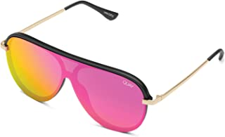 7ad7403cc093e Quay Australia x JLO Women s Empire Aviator-Inspired Shield Sunglasses