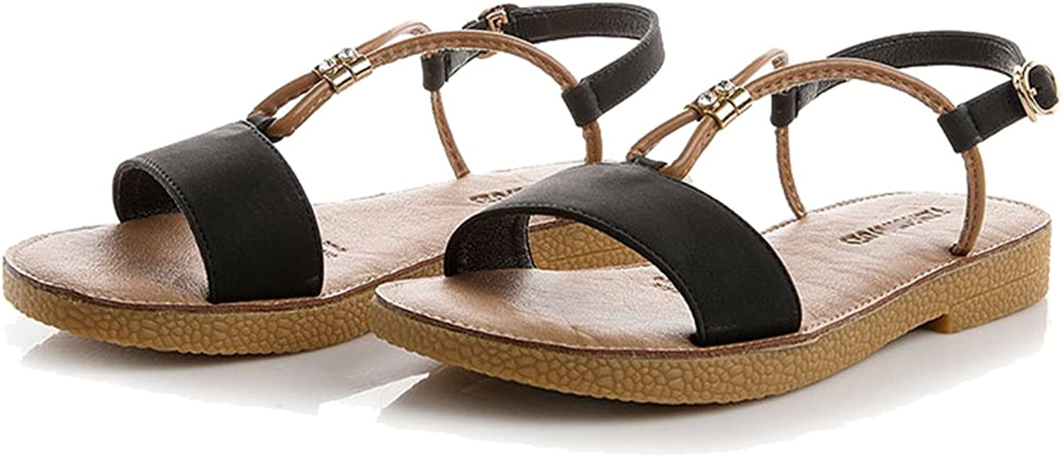 Femaroly Summer Beach shoes Sandals for Women and Girls Fashion Buckle Students shoes