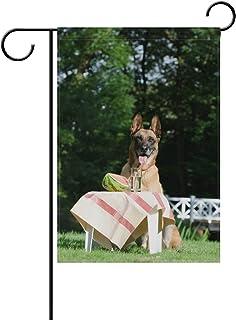 Fan Shop Belgian Malinois Dog Pet Metal License Plate Frame