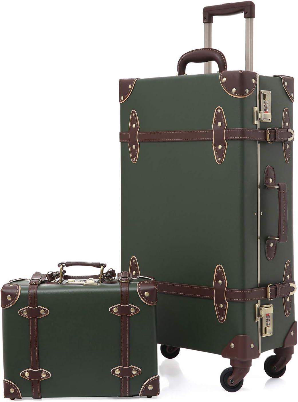 1. Urecity Vintage miglior set valigie da due pezzi