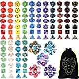 DND Dice Set, 20 Sets D and D Dice 140...