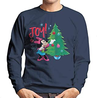 Disney Christmas Minnie Mouse Joy Men's Sweatshirt