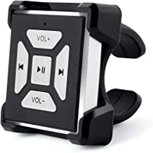 HOMSPORT Bluetooth Button Portable for Music Smart Remote Control Hands-Free Compatible for iPhone Android Devices