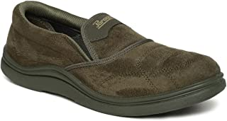PARAGON Fender Men's Green Casual Shoes