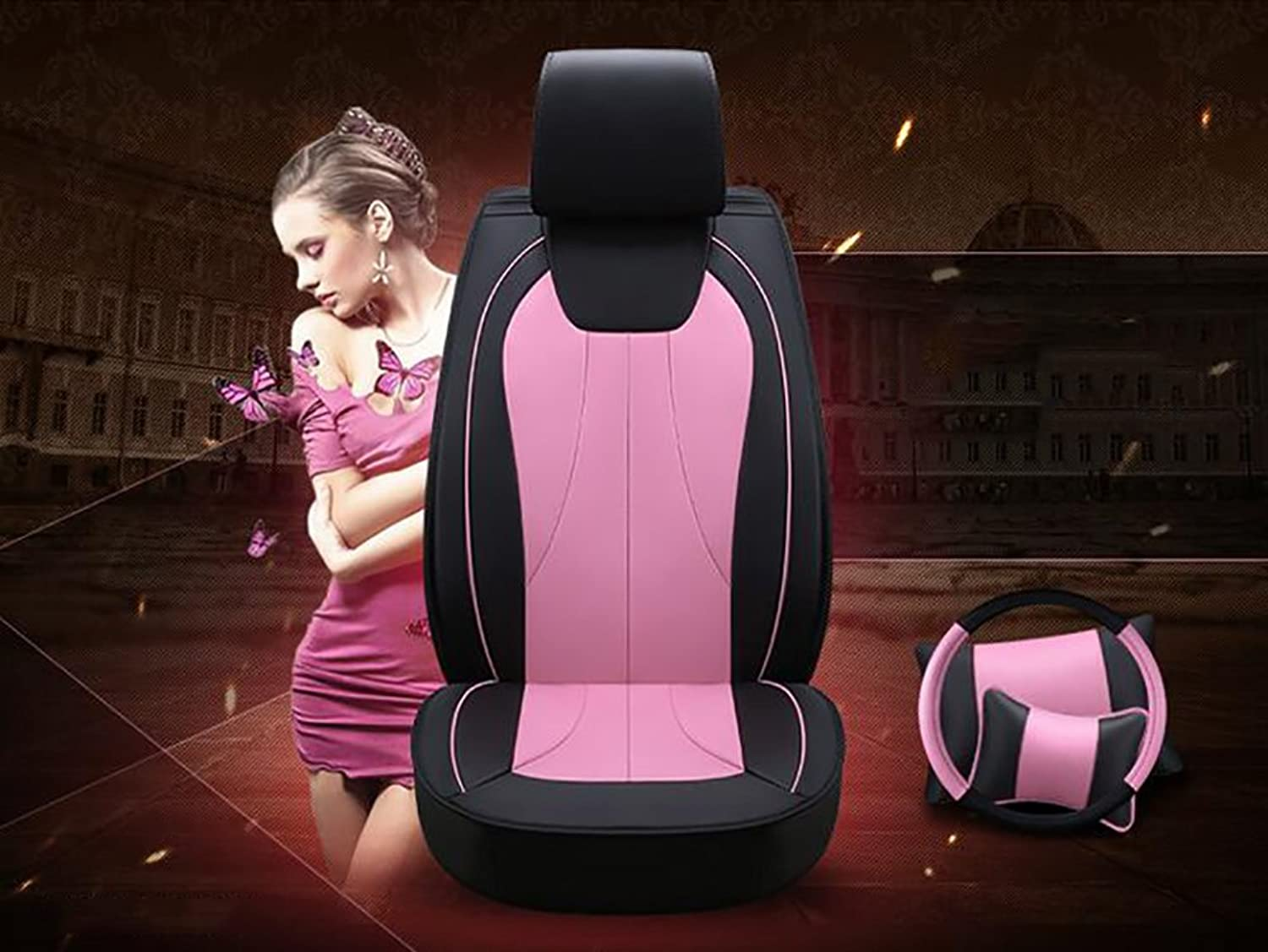 Ms Car Seat Covers Full Set Sleek Waterproof Universal Car Seat Cover and Predector