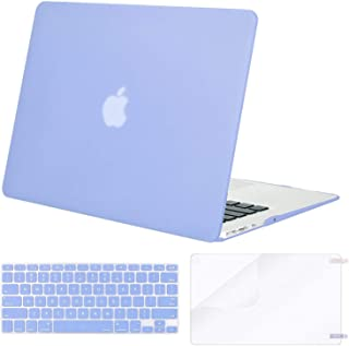 MOSISO MacBook Air 13 Inch Case A1369 & A1466,Plastic Hard Case & Keyboard Cover & Screen Protector Only Compatible with M...