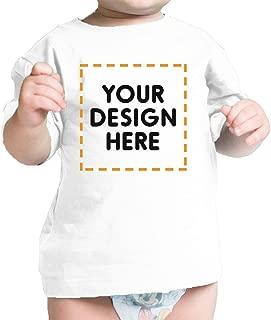 365 Printing Custom Baby Onesie Personalized Baby T-Shirt Unique Custom Bib Gift