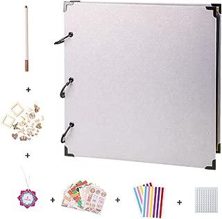 FaCraft 12x12 Scrapbook Album and Accessories (White)