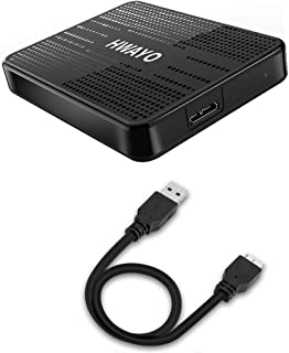 HWAYO 500GB Portable External Hard Drive Ultra Slim 2.5'' USB 3.0 HDD Storage for PC, Desktop, Laptop, MacBook, Chromebook, Xbox One