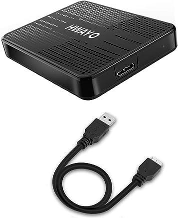 HWAYO 750GB Portable External Hard Drive Ultra Slim 2.5''...