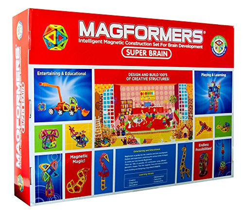 Magformers Deluxe Super Brain Set (220-pieces)