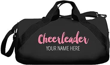 Custom Name Cheerleader Bags: Barrel Duffel Bag
