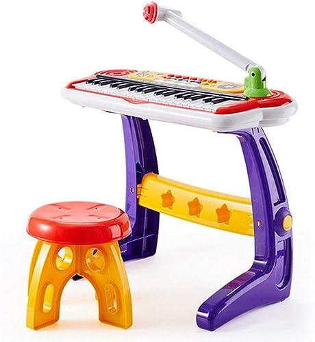 en stock LIPENG-TOY LIPENG-TOY LIPENG-TOY Teclado Real de Cuatro Tonos Juguete Educación temprana Bebé Música Niños Piano con micrófono (Color  promociones de descuento