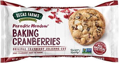 paradise meadow cooking and baking cranberries