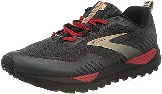 Brooks Cascadia GTX 15 męskie buty do biegania czarne/Ebony/czerwone