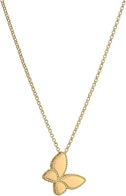 Tiny Treasures 18K Yellow Gold Small Princess Butterfly Necklace
