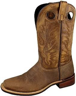 Smoky Mountain Mens Timber Sq Distres Boots