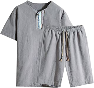 ♛Linen Cotton Clothing From Chamery♛ - Linen Shirts For Men/2019 Prime Deals/Casual Wild Tops Blouse Tees