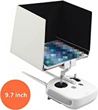 Kalevel Sunshade Hood for DJI Phantom 3 Phantom 4 Inspire 1 Sunshade for iPad Air iPad Pro Tablet Hood 9.7inch Sun Shade Sunshade for DJI Phantom 4 Phantom 3 FPV Remote Controller Monitor Hood 9.7