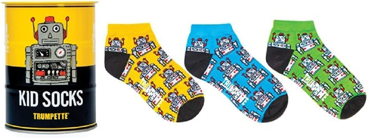 Socks  Trumpette  Robot TinCan 23yrs Baby Accessories Set of 3