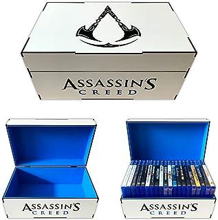 Porta jogos case Assassin´s Creed Valhalla (Playstation/Xbox)
