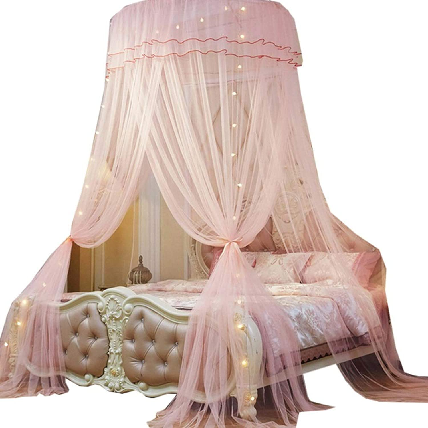 Home Dome Mosquito Net,Princess Mosquito Net for Home and Travel  Easy to Carry & Setup with Free