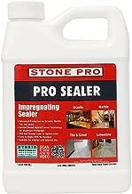 Stone Pro Pro Sealer - Impregnating Sealer for Granite, Marble, Tile and Grout - 1 Quart