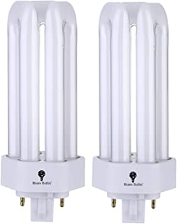 2 Pack PLT 26W GX24Q-3 (4 Pin) 4100K Cool White Replaces Sylvania 20882 CF26DT/E/IN/841 - Philips 268250 PL-T 26W/41/4P/AL...