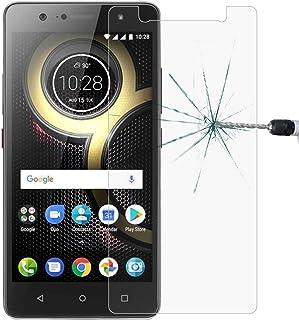 Dongdexiu Mobiltelefon skärmskydd 0,26 mm 9H 2,5D härdat glasfilm för Lenovo K8 Plus