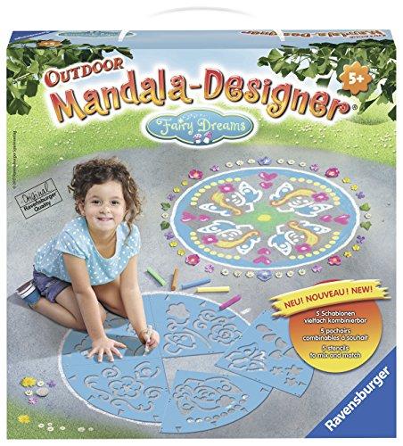 Ravensburger 29764 - Fairy Dreams Mandala Designer Outdoor