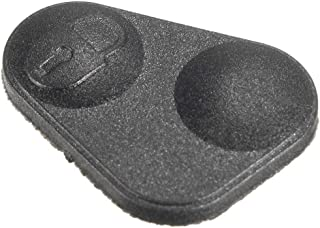 Udele-Store - Rubber 2-Button Remote Key Fobs Pad Cover YWC000300 For Land/Range Rover P38 Black Repair Kit
