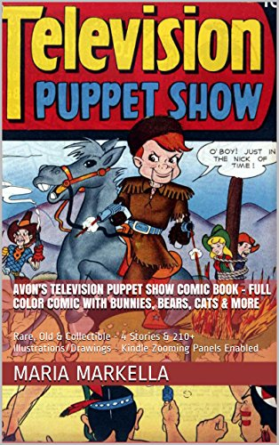 Avon's Television Puppet Show Comic Book – Full Color Comic With Bunnies, Bears, Cats & More: Rare, Old &…