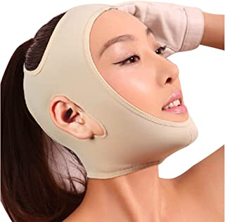 Joly Full Face Style Anti Wrinkle Face Slimming Cheek Mask Lift V Face Line Slim 4 Size for Your Choice (Middle Size)