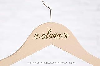 ca4588illa - Perchas para Novia, Regalo de Dama de Honor, Personalizadas, para Boda, Vestido de Novia, Perchas para Dama de Honor, Personalizadas