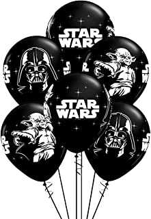 BATTER 24PCS Star wars Balloons Party Supplies 12 inch Latex Balloons for Kids Baby Shower Birthday Party Decorations