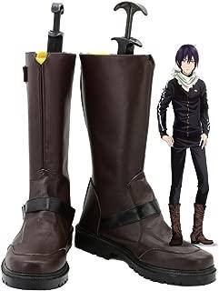 Noragami ARAGOTO Yato Cosplay Shoes Boots Custom Made