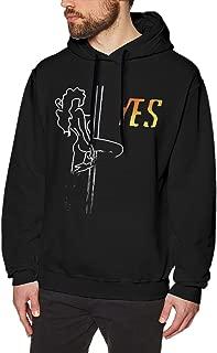 Zblin Mens Hoodie Sweatshirt Fat Joe, Cardi B & Anuel AA YES Style Black