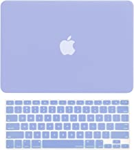 TOP CASE - 2 in 1 Signature Bundle Rubberized Hard Case and Keyboard Cover Compatible Old Generation MacBook Pro 13-Inch (13