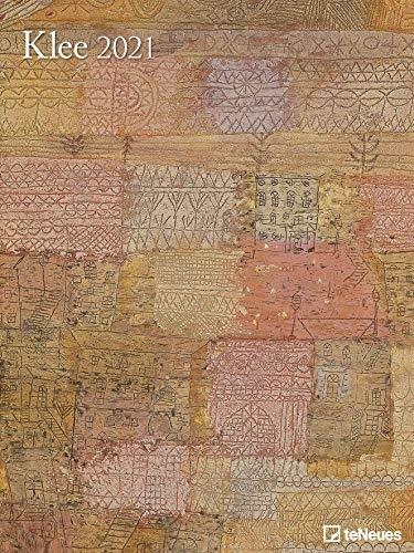 Klee - Kalender 2021 - Teneues-Verlag - Wandkalender - Kunstkalender mit Gemälden der Moderne - 47,8 cm x 63,8