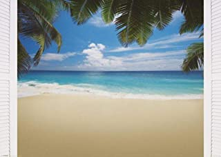 Pyramid America Maldives Bliss Tropical Beach Photo Cool Huge Large Giant Poster Art 55x39