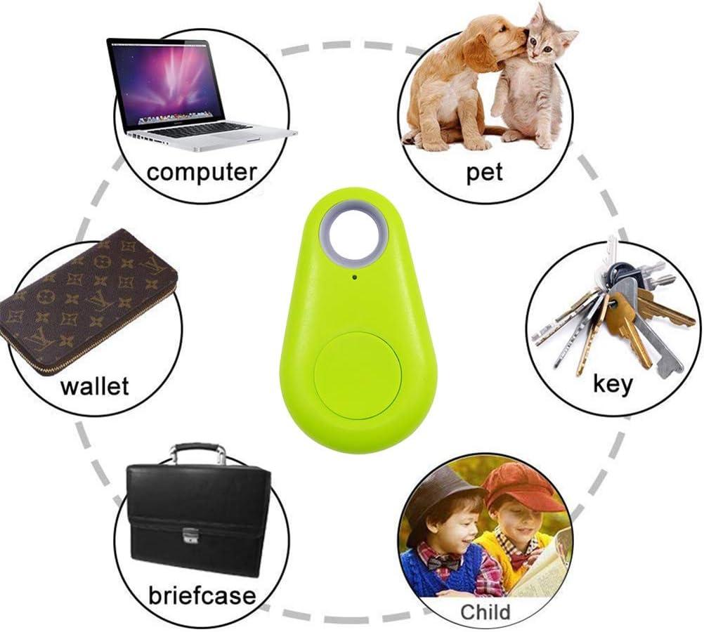 Smart Key Finder Locator Water Drop Pet Key Wallet Anti Lost Tracker Wireless Bluetooth Seeker Gifts