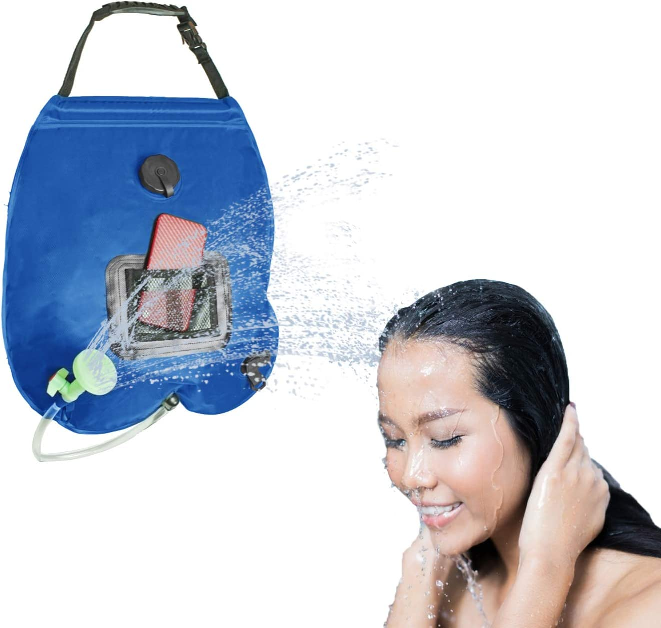 XUNXING Outdoor Max 71% OFF Traveling Portable Solar trend rank Bag Camp Shower