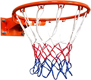 Wall حلقة كرة السلة واثنين من الشباك الرسمية حجم كرة السلة HOOP 18 '' 13.7 '' هدف كرة السلة معلقة للأطفال البالغين Basketb...