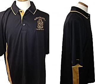 a3c1e4a1c Cultural Exchange Buffalo Dallas Alpha Phi Alpha Shield Dri-Fit Mens Polo  Shirt